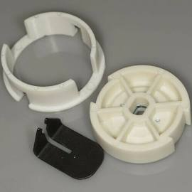 Crown and Drive kit for Rollease 25mm motor. Fits 1.25