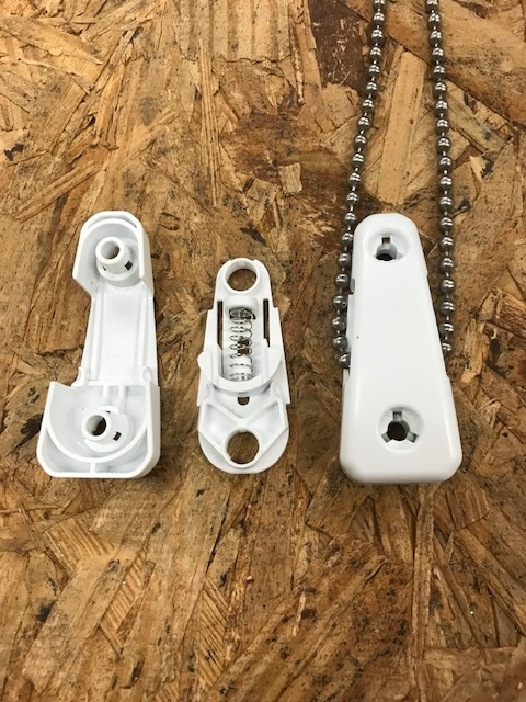 Rollease Chainhold Cover & Base Size & Fit Guide